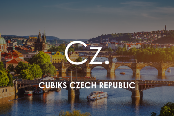 Prague cityscape for Cubiks Offices Czech Republic