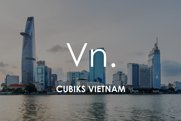 Ho Chi Minh City (Saigon) cityscape for Cubiks Offices Vietnam