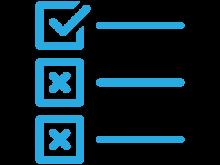 check box list icon